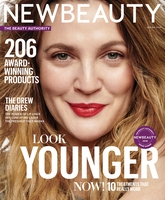 New Beauty Cover with Drew Barrymore