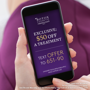 $50 OFF Botox Treatment